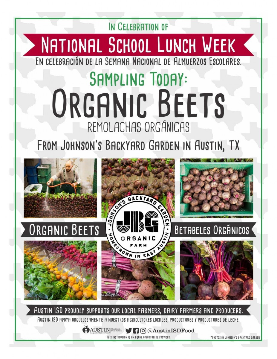 Click on the image to download the Beet PDF flyer
